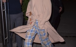 Victoria Beckham Wearing Her Own Designs in 2018