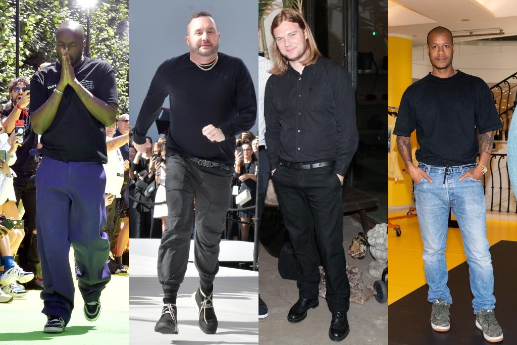 Virgil Abloh, Kim Jones, Matthew Williams, heron preston, paris men's fashion week