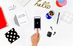 Phone with Jetblack app