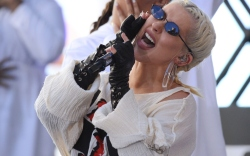 Christina Aguilera, today show concert series