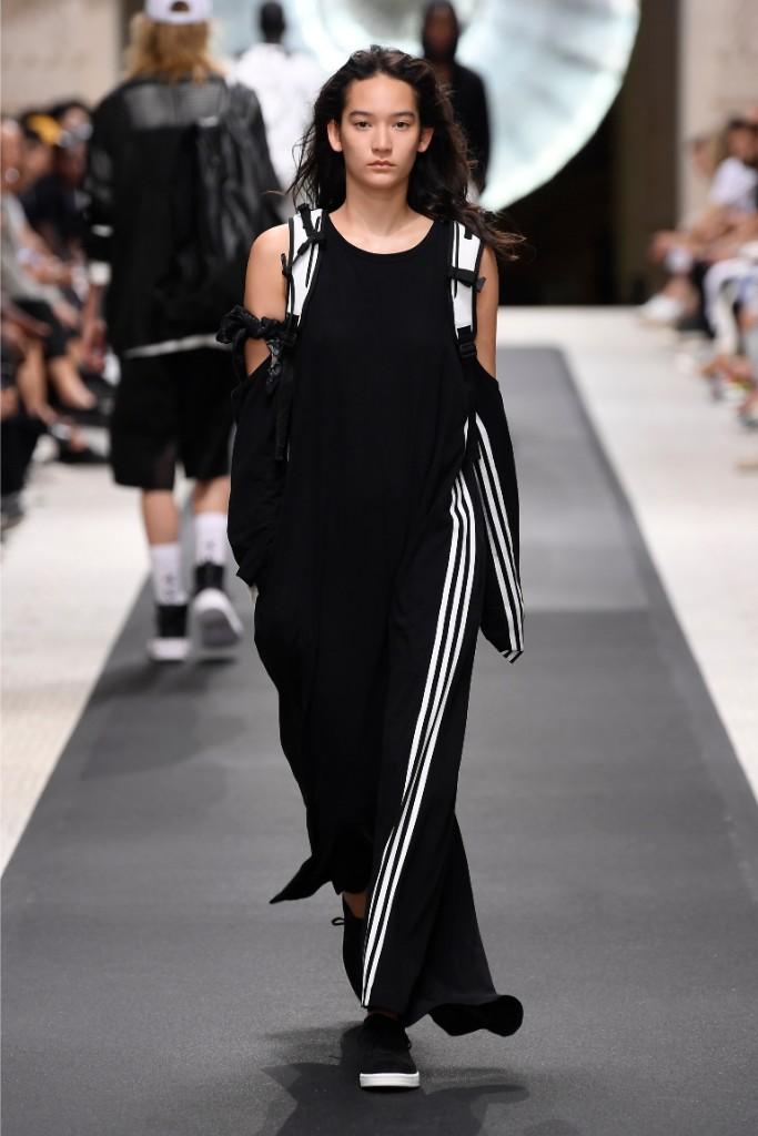 y-3 x adidas, spring 2019, paris fashion week men's