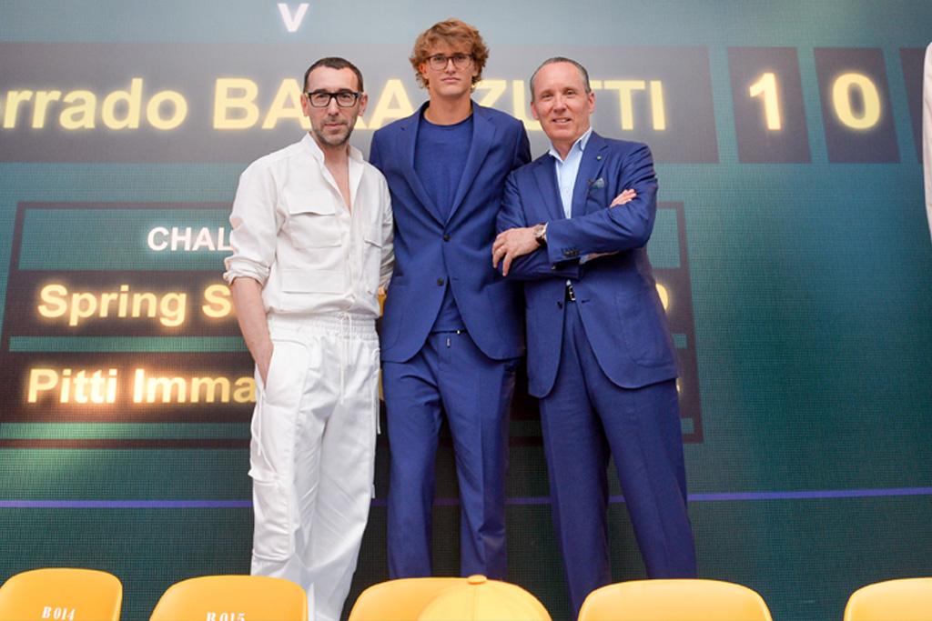 Z Zegna, Alexander Zverev, ambassador