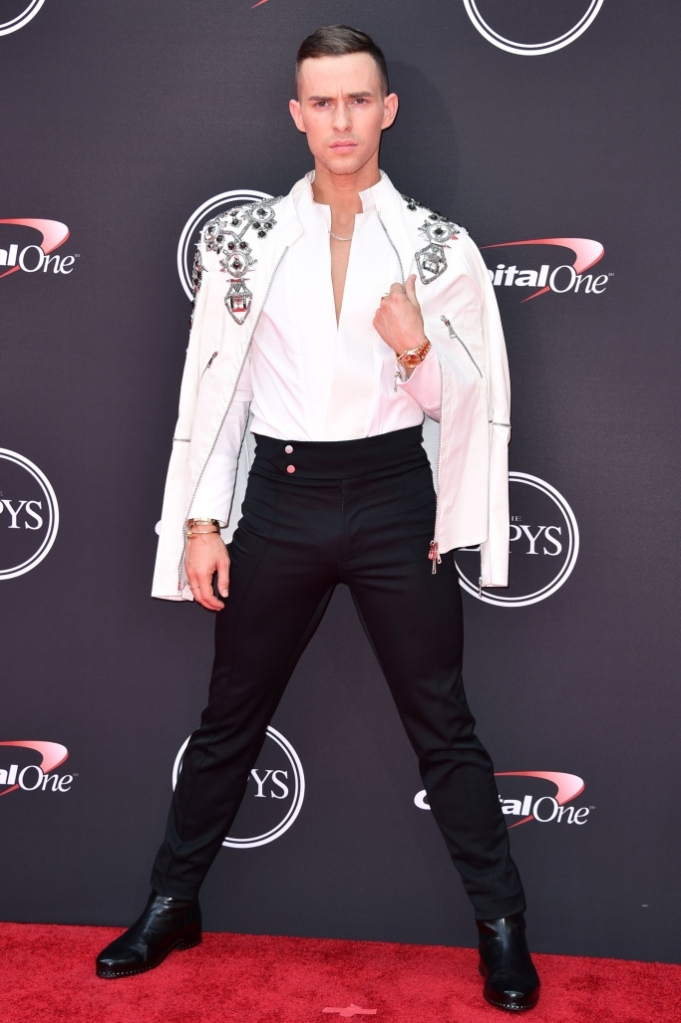 Adam Rippon espy awards 2018 red carpet olympic athlete style