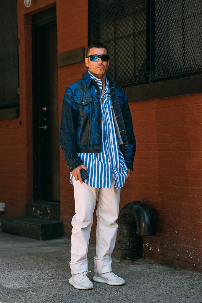 Alex Badia, Yeezy, NYFW Men's
