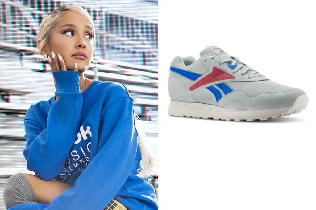 sacerdote Fortaleza heroico  Ariana Grande x Reebok Get '90s Retro for Rapide Sneaker [Details] –  Footwear News