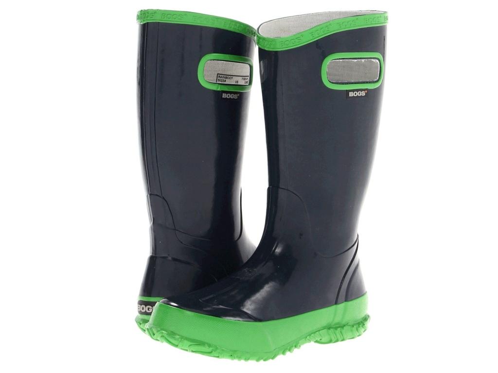 Bogs Kids Glosh Solid Rain Boot