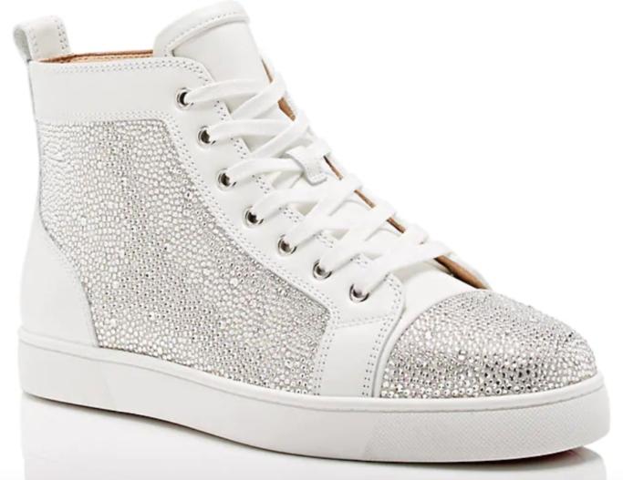 Christian Louboutin Louis Flat Leather Sneaker