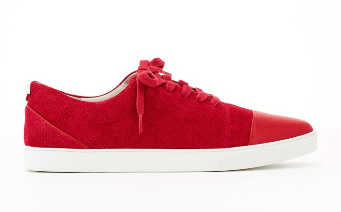 Cocktail Sneaker Weekender lace-up style.