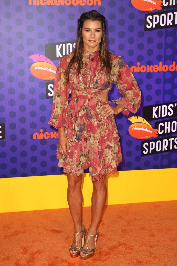 Danica Patrick , nickelodeon kids choice sports awards, red carpet