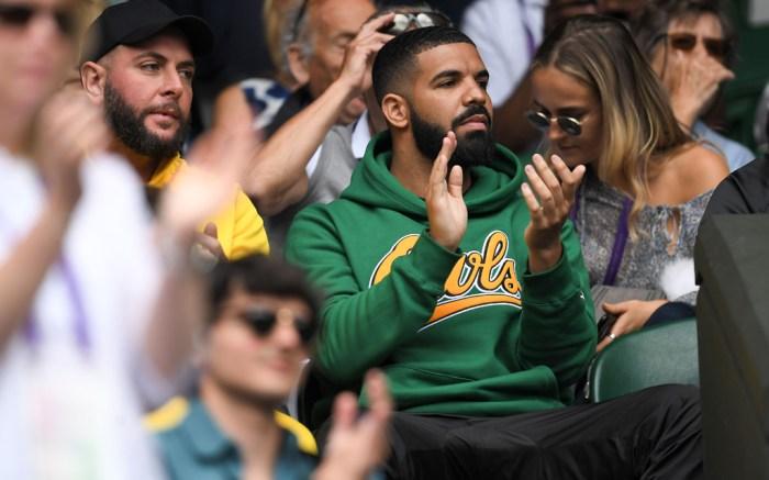 Drake, wimbledon, serena williams