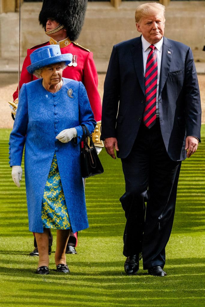 queen-elizabeth-president-trump