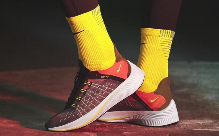 Nike EXP-X14 black orange