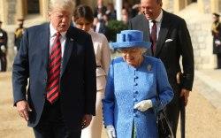 president-trump-queen-elizabeth
