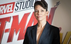 Evangeline Lilly at the UK press