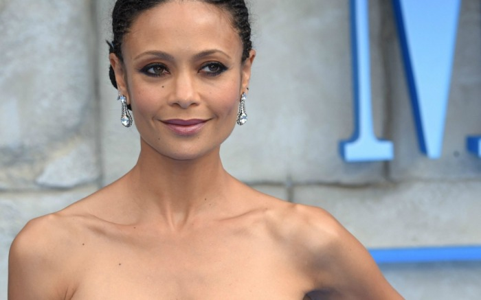 Thandie Newton makes an appearance at the 'Mamma Mia! Here We Go Again' UK film premiere.