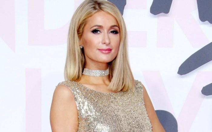 Paris Hilton attends the 71st Cannes Film Festival in France.