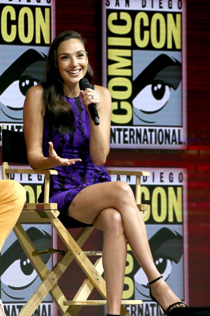 Gal Gadot, Comic-Con, San Diego
