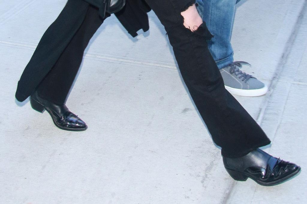Gigi Hadid, shoes, Western boots