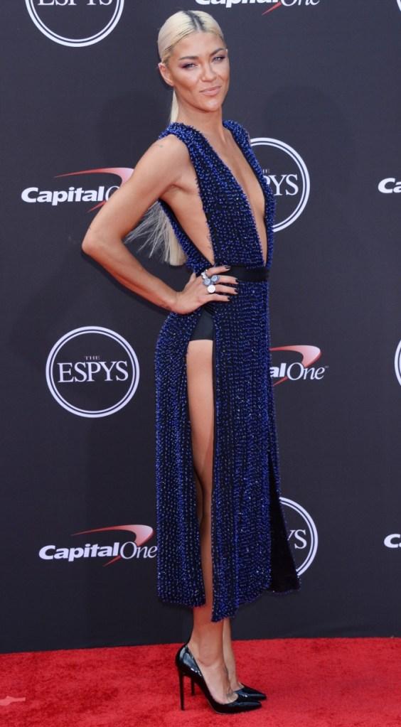 Jessica Szohr red carpet espy awards fashion
