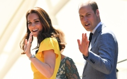 Kate Middleton and Prince William at