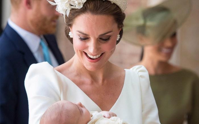 Kate Middleton, Prince Louis, Prince Louis christening