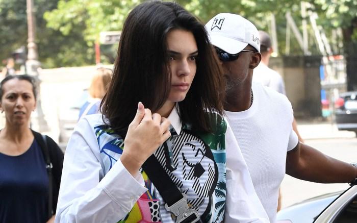 Kendall Jenner, Paris, fashion