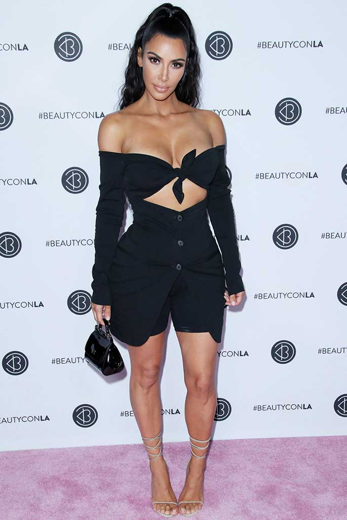 Kim Kardashian at Beautycon.