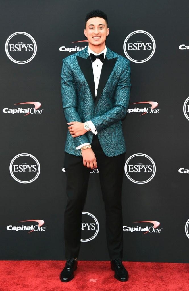 Kyle Kuzma, red carpet, espy awards 2018