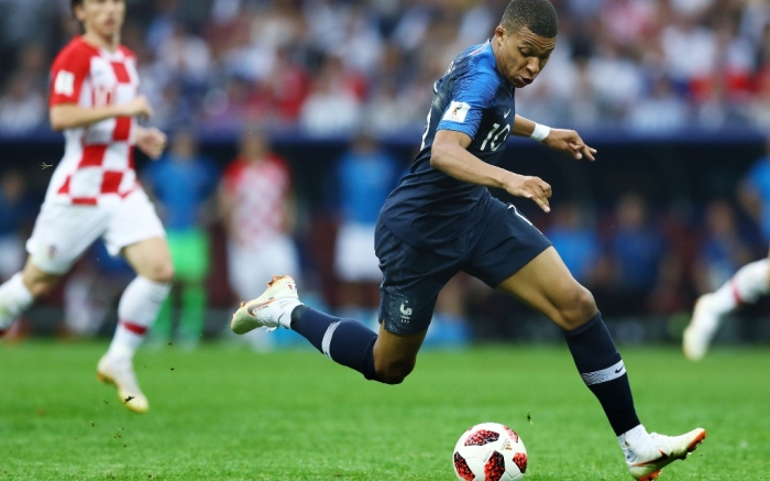 Kylian Mbappe, World Cup 2018