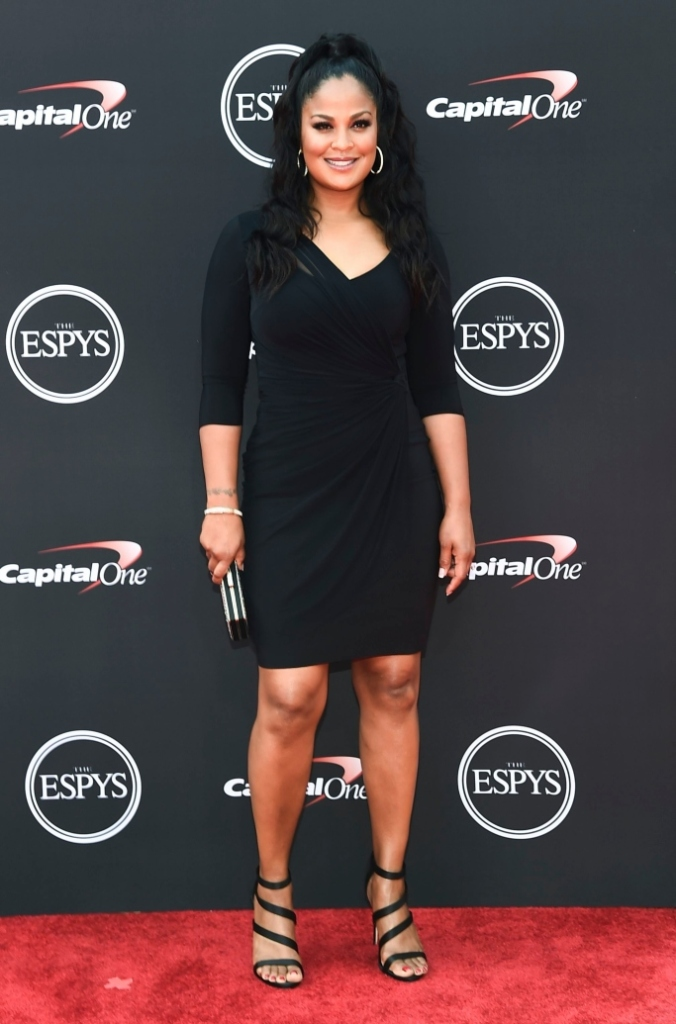 Laila Ali red carpet 2018 espy awards arrivals