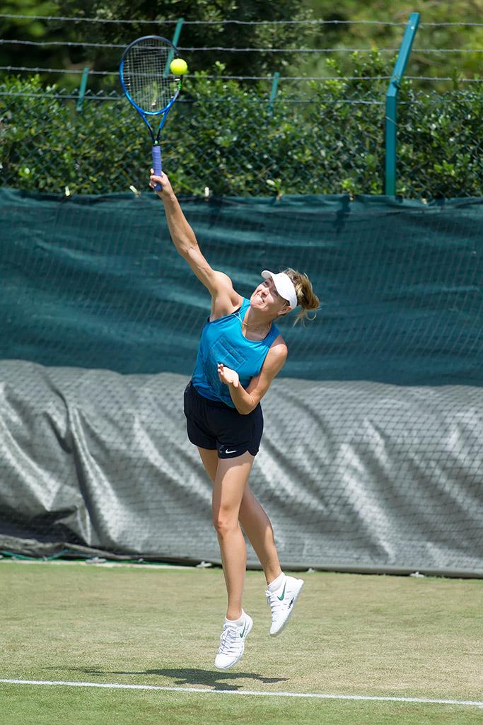 Maria Sharapova, nike zooms, custom sneakers, wimbledon