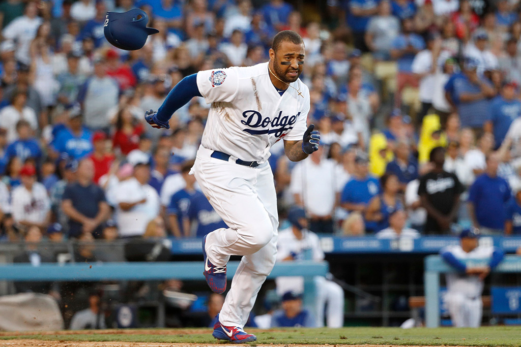 Matt Kemp Los Angeles Dodgers Nike