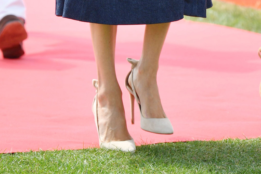 Meghan Markle shoes, Aquazzura