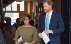 prince louis christening, meghan markle, prince
