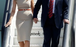Melania Trump in London