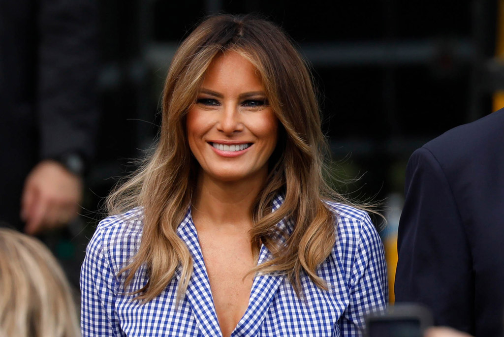 Melania Trump S 4th Of July Dress Came With A History Lesson Footwear News