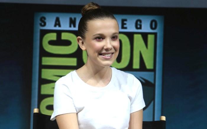 Millie Bobby Brown, Comic-Con, Calvin Klein