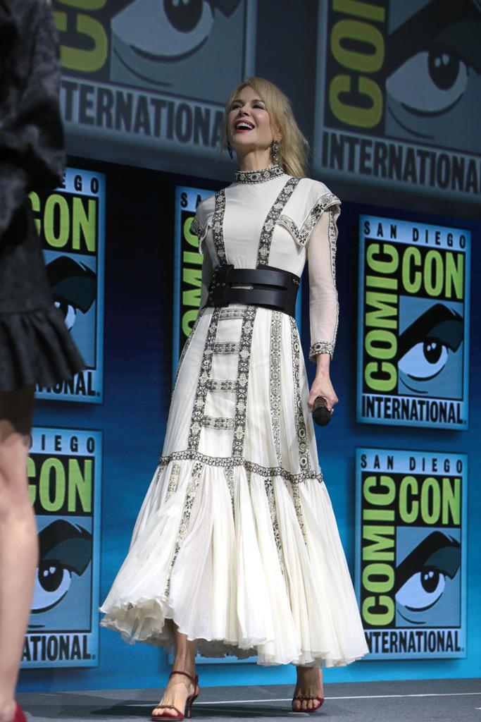 Nicole Kidman , Comic-Con, Aquaman film panel, San Diego, California