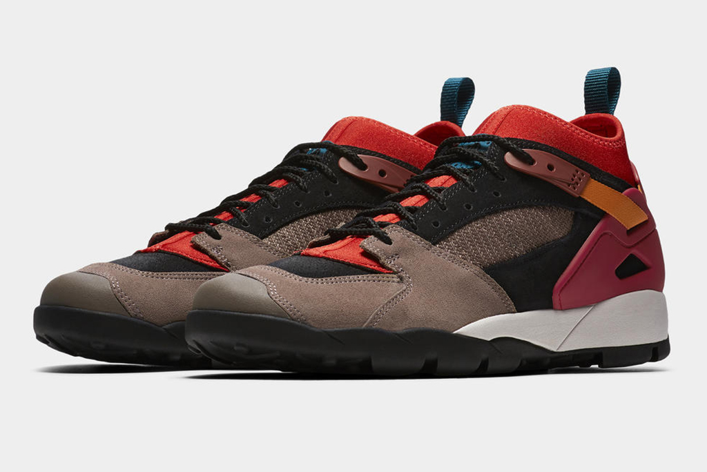 Nike ACG Air Revaderchi brown gym red