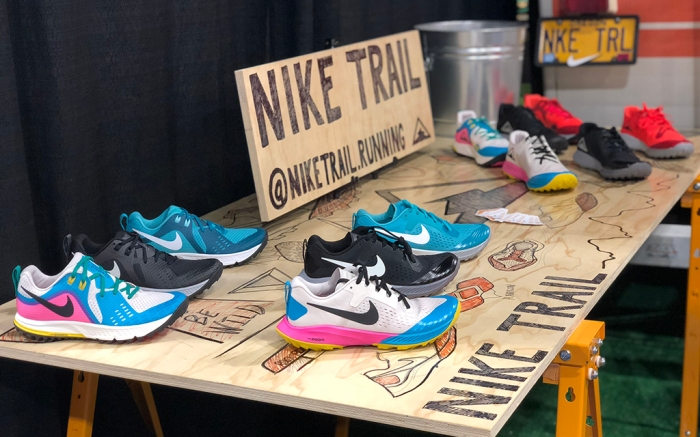 Nike trail running 2018 Outdoor Retailer Summer Market