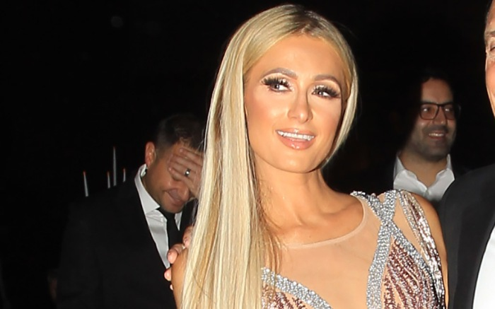 American television personality Paris Hilton and Megan Pormer at the City of Hope event in Las Vegas, CA.They are seen taking selfies.Pictured: Paris HiltonRef: SPL5012975 280718 NON-EXCLUSIVEPicture by: SplashNews.comSplash News and PicturesLos Angeles: 310-821-2666New York: 212-619-2666London: 0207 644 7656Milan: +39 02 4399 8577Sydney: +61 02 9240 7700photodesk@splashnews.comWorld Rights