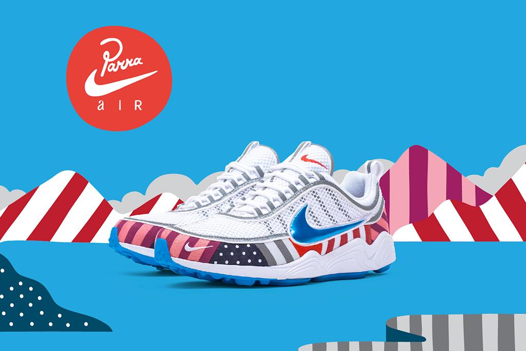 Parra Nike Zoom Spiridon