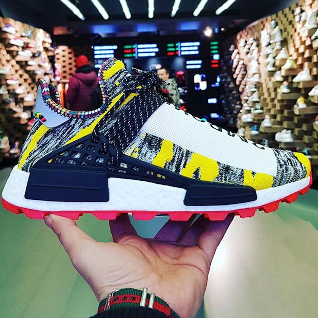 Pharrell Adidas Originals NMD Hu Solar Pack