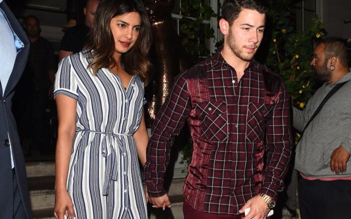 nick jonas, priyanka chopra, street style, couples style