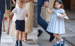 prince louis christening, prince george, princess