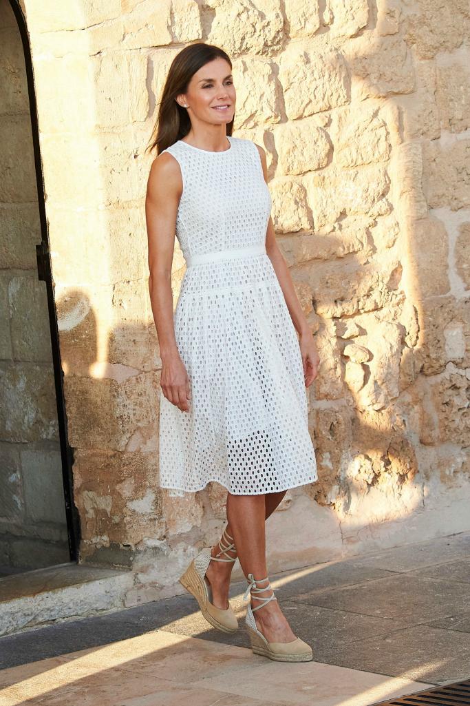 Queen Letizia of Spain shoes
