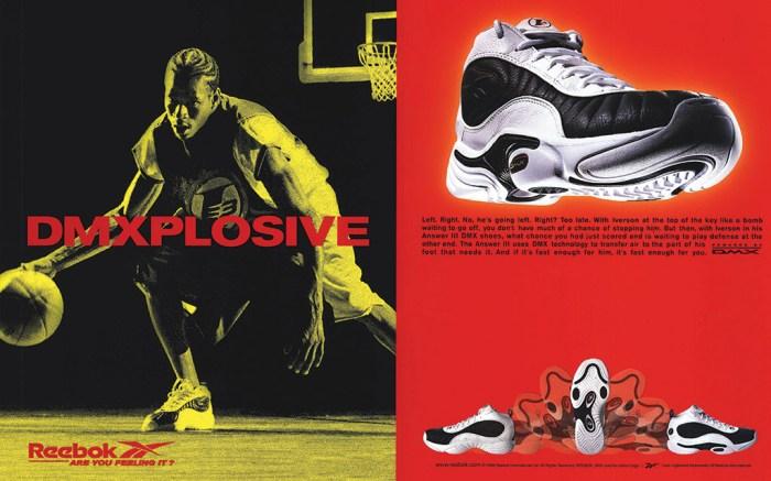 reebok, allen iverson, answer sneakers
