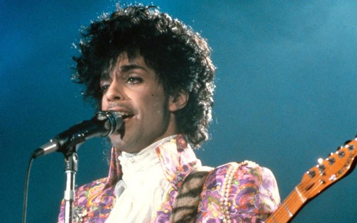 PrincePRINCE IN CONCERT AT NASSAU COLISEUM, NEW YORK, AMERICA - 1985