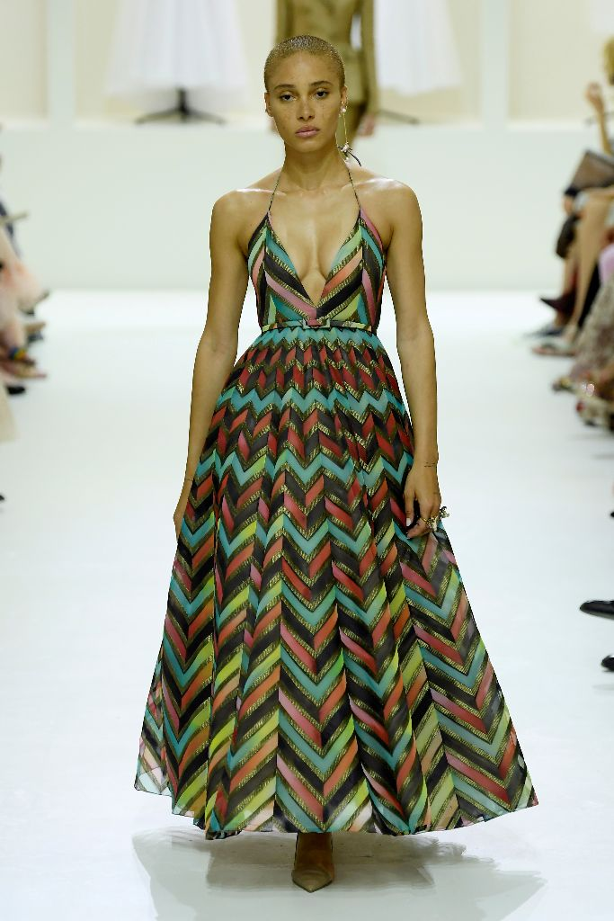 Adwoa Aboah, dior haute couture fall 2018