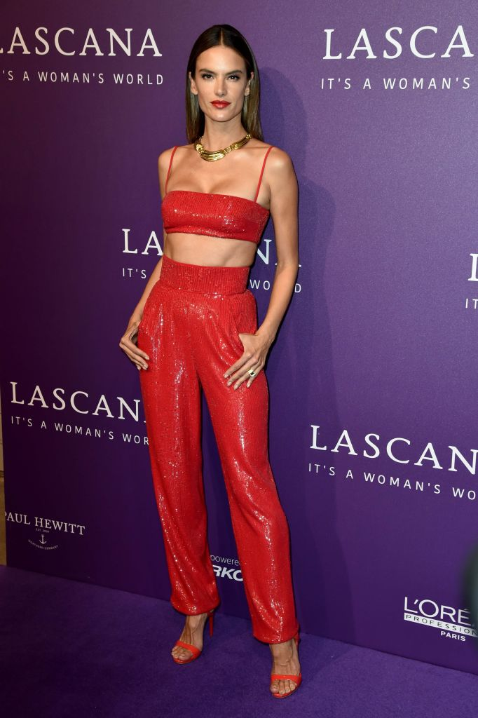 Alessandra Ambrosio made an appearance at the Lascana show during Mercedes-Benz Berlin 2018 Fashion Week.